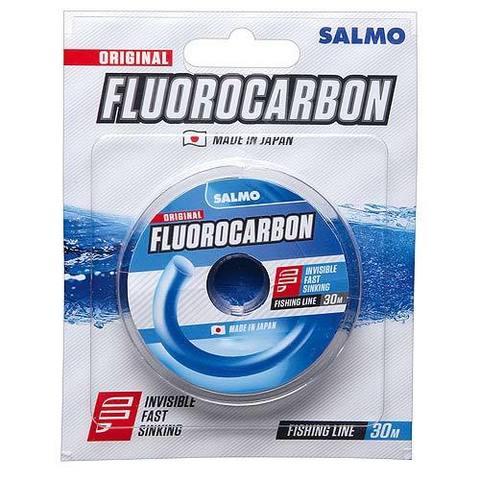 Леска монофильная Salmo FLUOROCARBON 30м, 0,12мм