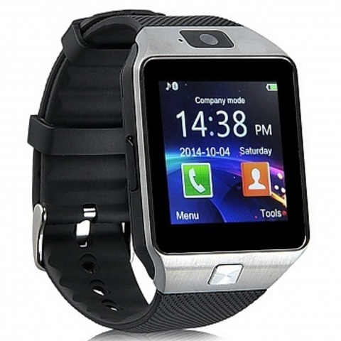 Умные часы Smart Watch DZ09 Silver