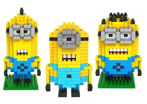Minifigures Despicable Me Blocks Building