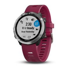 Спортивные смарт часы Garmin Forerunner 645 Music с вишневым ремешком 010-01863-31