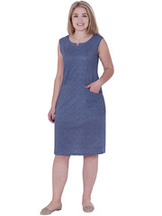 X240-2 Сарафан женский, синий