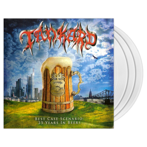 Tankard / Best Case Scenario - 25 Years In Beers (Clear Vinyl)(3LP)