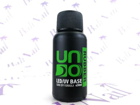 UNO, Базовое покрытие для гель-лака RUBBER, 30мл