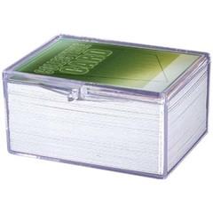 Ultra Pro - Коробочка из прозрачного пластика для хранения 100 карт