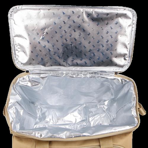 Сумка-холодильник (термосумка) Арктика 3 перс., 13,5 л. с рисунком (зеленая)