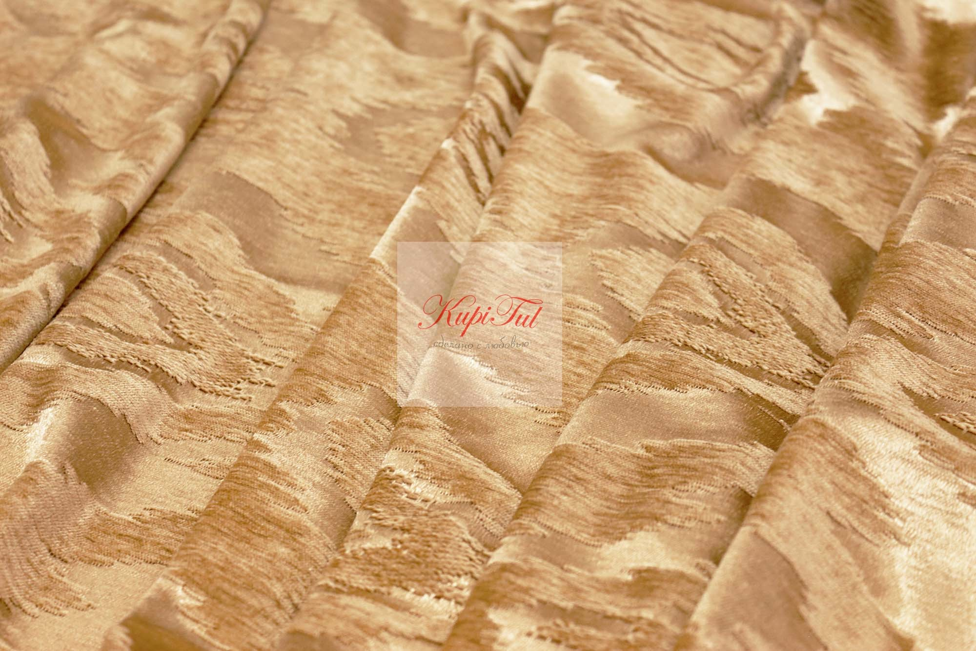 Готовая штора Ramada (золото)