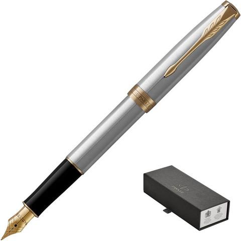 Ручка перьевая PARKER 2017 Sonnet Cталь 1931504 тонкая Франция