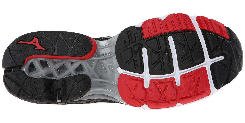 Мужские кроссовки для бега Mizuno Wave Creation 16 (J1GC1501 03) черные поошва