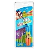 Детская звуковая зубная щётка Brush-Baby KidzSonic от 3 до 6 лет