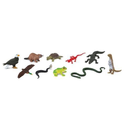 Набор фигурок Обитатели речной поймы, Safari Ltd.