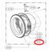 Обрамление люка внешнее для стиральной машины LG(Элджи) MDQ63280802