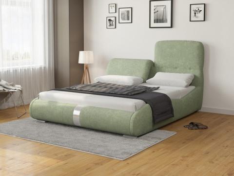 Кровать Лукка:  Ткань Лофти Олива