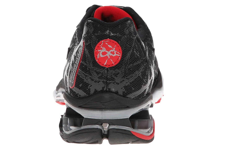 Мужские беговые кроссовки Мизуно Wave Creation 16 (J1GC1501 03) черные пятка