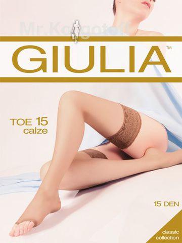 Чулки Giulia Toe 15 (чулки)