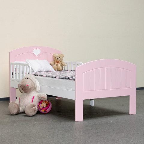 Кровать подростковая Феалта-baby Мечта, розовая