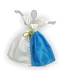 Платье двуцветное - Демонстрационный образец. Одежда для кукол, пупсов и мягких игрушек.