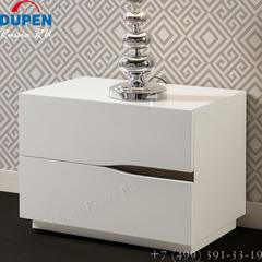 Тумба прикроватная DUPEN (Дюпен) М-134 белая
