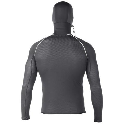 Мужская гидромайка Drylock Smart Fiber Hooded L/S Top