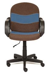 Кресло компьютерное Багги (Baggi) — коричневый/синий (3М7-147/С24)