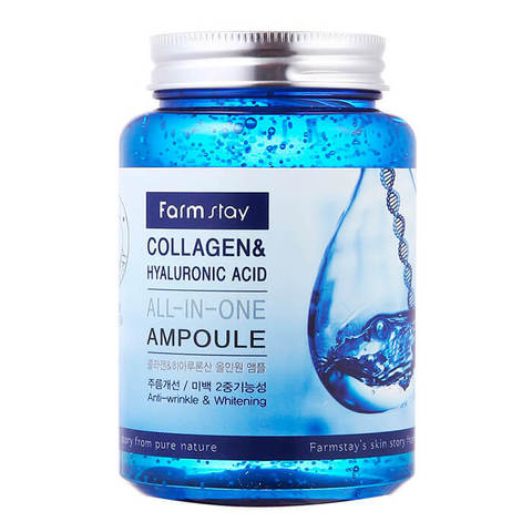 FarmStay Collagen & Hyaluronic Acid All-in-One Ampoule