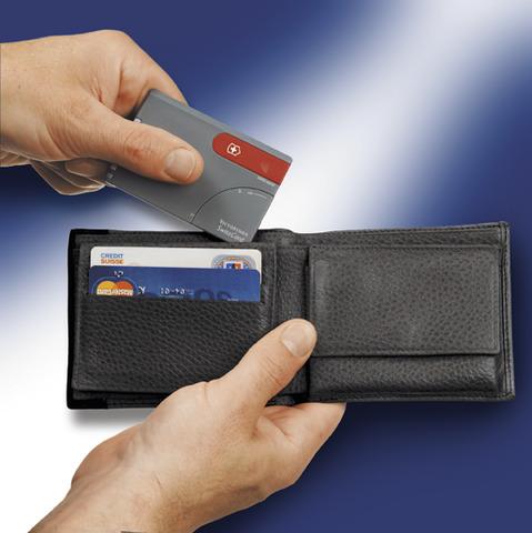Швейцарская карточка Victorinox SwissCard, черная