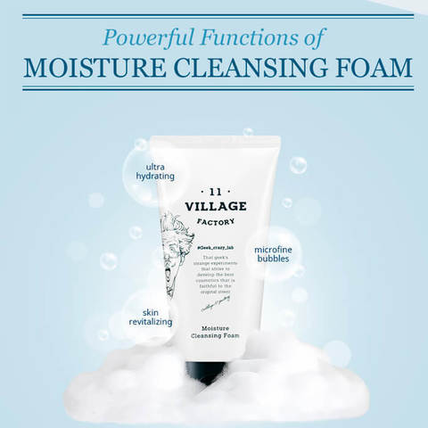 Увлажняющая пенка для умывания, 150 мл / Village 11 Factory Moisture Cleansing Foam