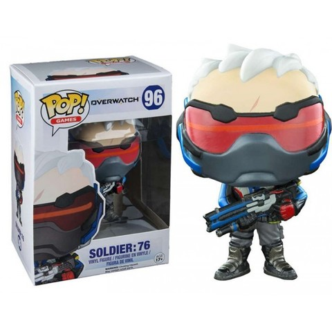 Фигурка Funko POP! Vinyl: Games: Overwatch: Soldier 76 (Exc) 9303