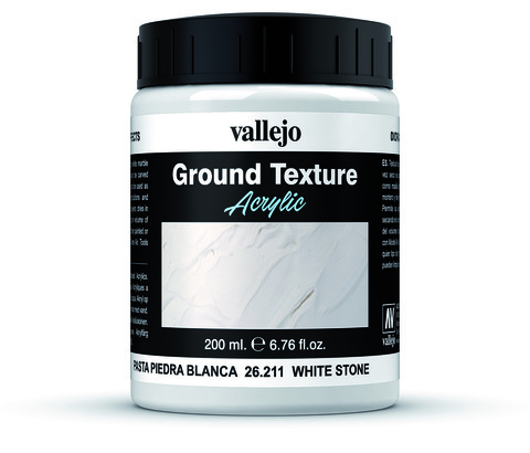 Diorama Effects White Stone Paste 200 ml.