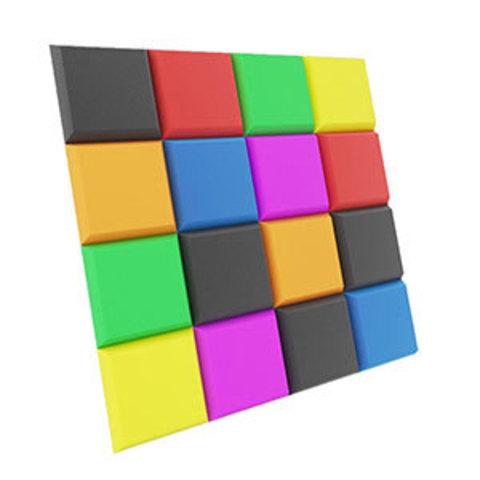 Акустический поролон ECHOTON цветная мозаика 315-2600 Hz