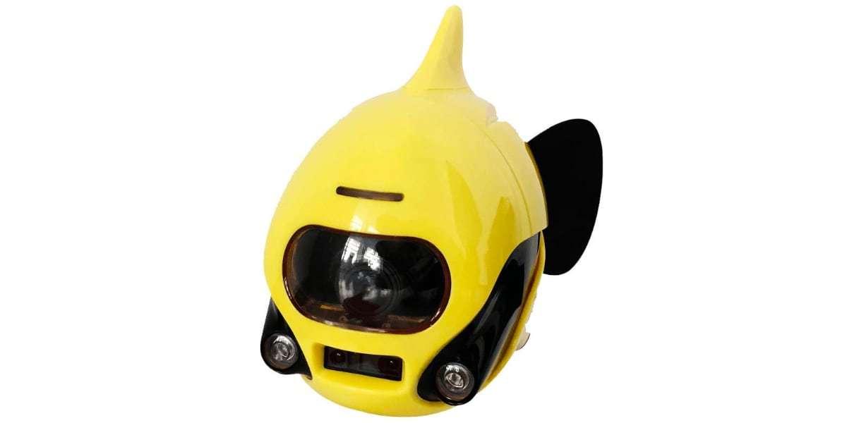 Подводный дрон RoboSea BIKI V1.0 желтый вид спереди