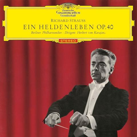 Berliner Philharmoniker, Herbert von Karajan / Strauss: Ein Heldenleben Op. 40 (LP)