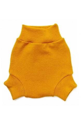 Однослойные пеленальные штанишки (S, Шафран)