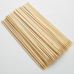 Шампуры для шашлыка бамбуковые 100 штук 20 см KA-00054