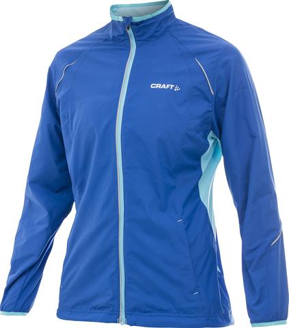 Куртка беговая женская Craft Active Run Blue