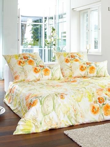 Постельное белье 2 спальное Elegante Avignon желтое
