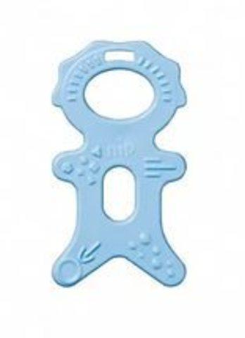 NIP прорезыватель для зубов 3-12мес голубой цвет