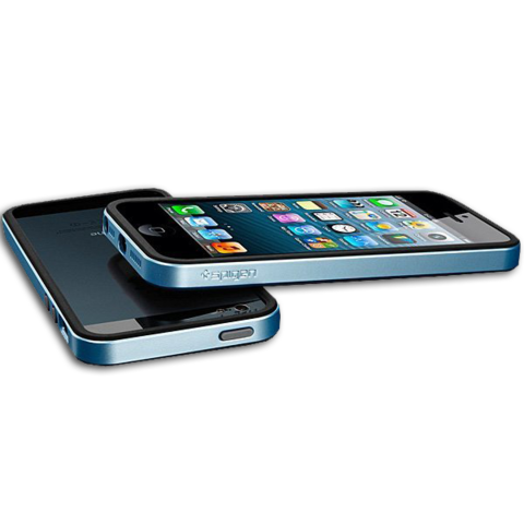 Spigen SGP Case Neo Hybrid EX Slim for iPhone 5 / 5S / SE Metal Blue SGP10036