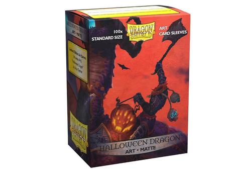Протекторы Dragon Shield матовые Art: Halloween (100 шт.)