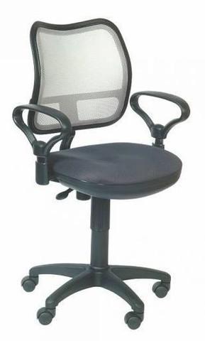 спинка сетка светло-серый сиденье серый TW-12