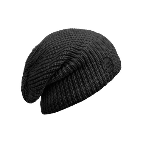 Вязаная шапка-чулок Buff Drip Black