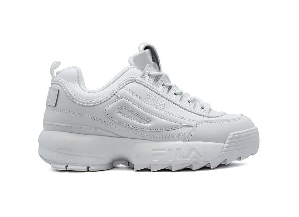 Fila Disruptor II (All White) (007)