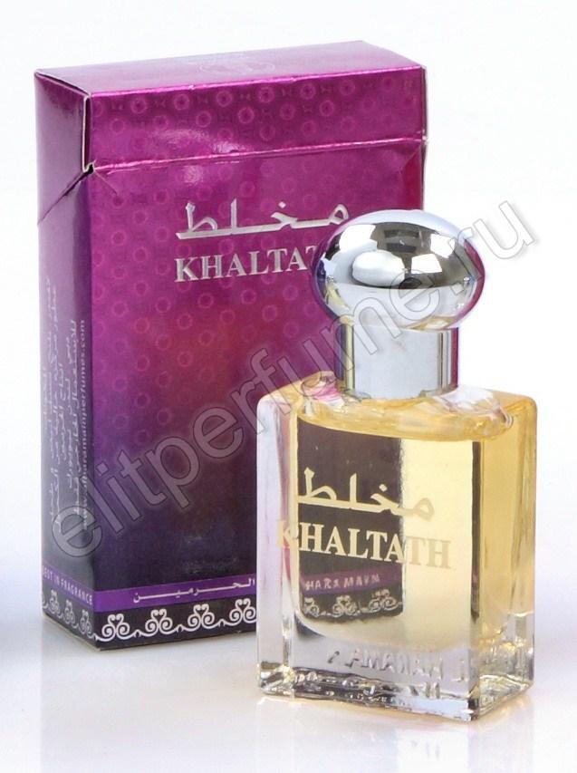 Haramain Mukhallath (Бывшее название Khaltath / Хальтат) 15 мл арабские масляные духи от Аль Харамайн Al Haramain Perfumes