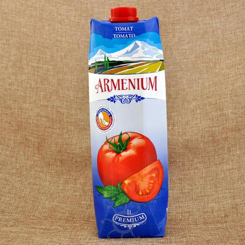 Сок Армениум томатный с солью и мякотью
