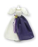Платье двуцветное - Фиолетовый. Одежда для кукол, пупсов и мягких игрушек.