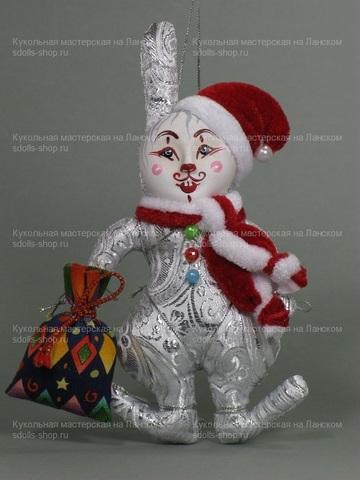 Кролик новогодний с мешком