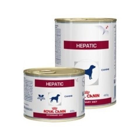 Royal Canin Hepatic влажный корм для собак при заболеваниях печени 420гр
