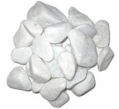 Декоративные камни белые (упаковка 1кг)