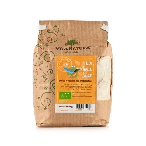 Мука пшеничная особо тонкого помола 800 г, БИО (Словения)