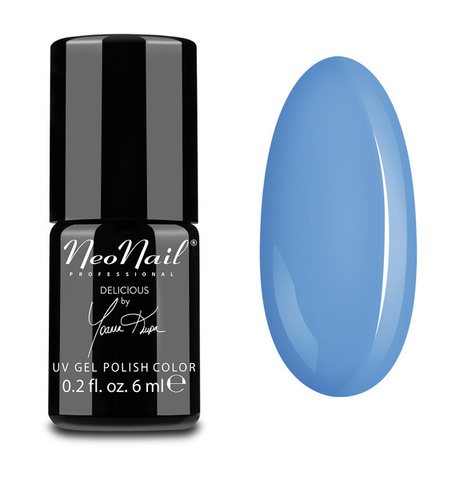 NeoNail Гель лак UV 6ml Blue Cream Jelly №5639-1