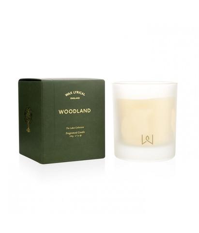 Свеча ароматическая в стекле Вековой лес Woodland, Wax Lyrical